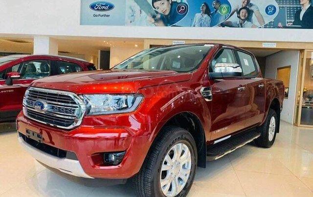 Ford Ranger XLT Limited 2020, ưu đãi lớn, giao xe toàn quốc2