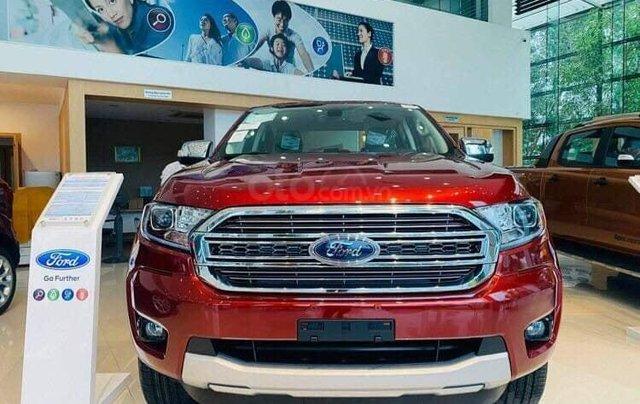 Ford Ranger XLT Limited 2020, ưu đãi lớn, giao xe toàn quốc0