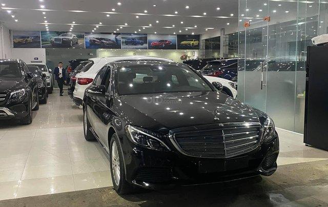 Bán xe Mercedes C250 Exclusive đời 2016, màu đen0