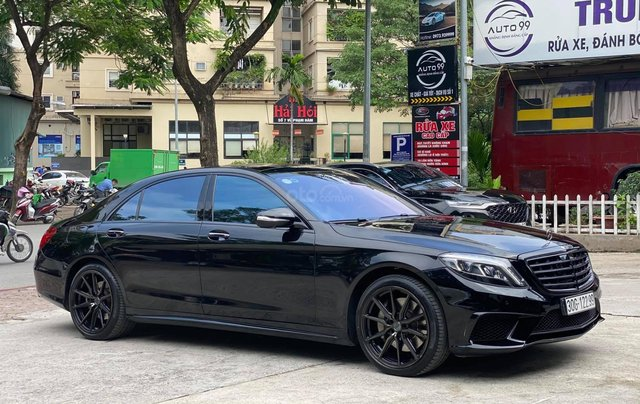 [HOT] Mercedes S500 lên full S63 AMG xịn xò - biển Vvip0