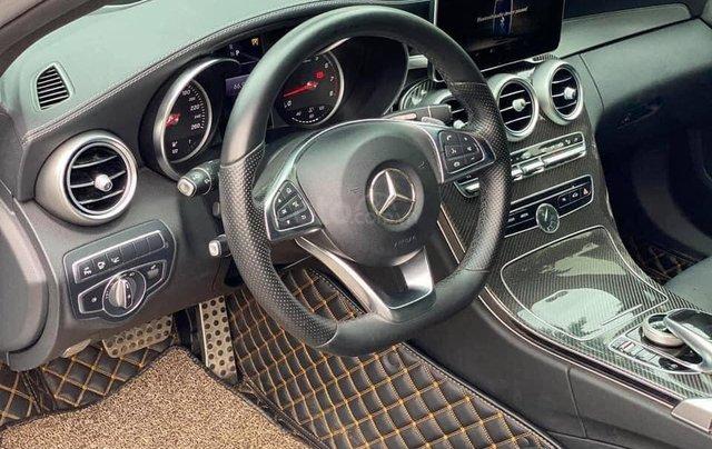 Cần bán gấp C300 AMG 2017, màu bạc3