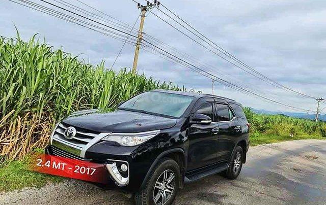 Cần bán gấp Toyota Fortuner năm sản xuất 2017, màu đen, nhập khẩu nguyên chiếc còn mới0