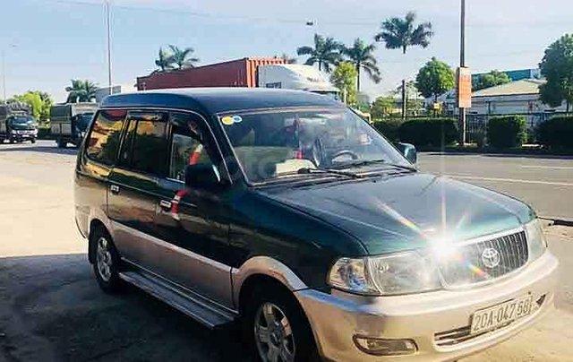 Bán ô tô Toyota Zace sản xuất 2001, màu xanh lam còn mới0