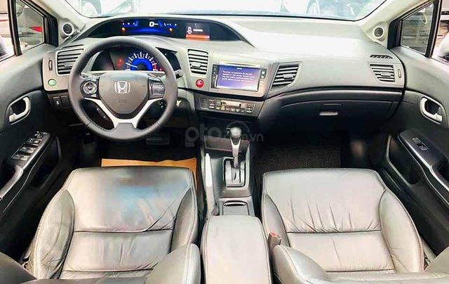 Cần bán xe Honda Civic sản xuất năm 2015, màu nâu còn mới3
