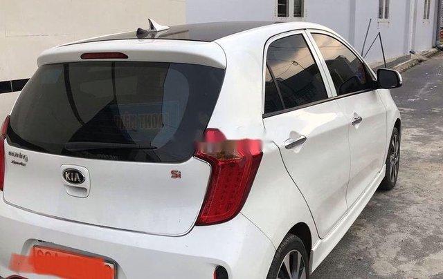 Bán Kia Morning sản xuất 2018, màu trắng xe gia đình0