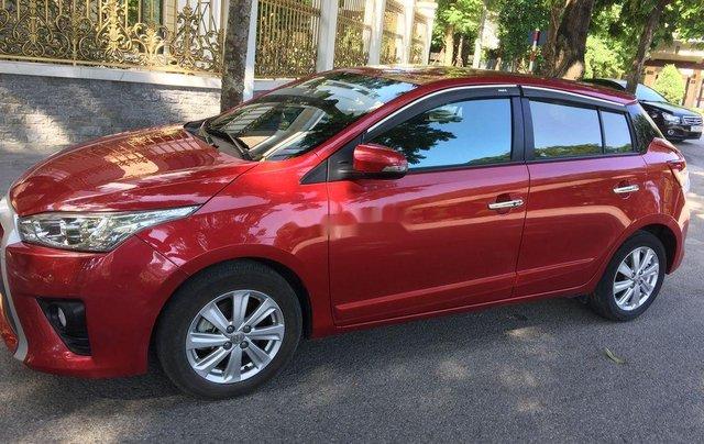 Bán ô tô Toyota Yaris đời 2015, màu đỏ, nhập khẩu nguyên chiếc chính chủ3