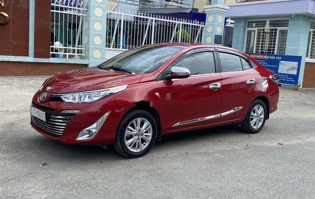 Cần bán gấp Toyota Vios năm sản xuất 2019, màu đỏ còn mới3