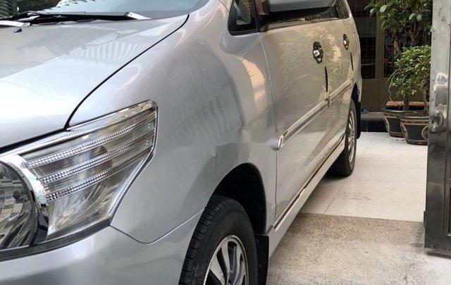 Xe Toyota Innova đời 2015, màu bạc, xe gia đình, giá 410tr5