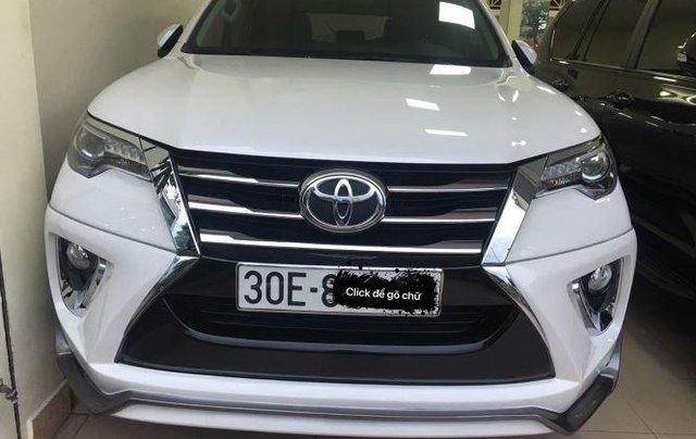 Bán Toyota Fortuner 2017, màu trắng, nhập khẩu chính chủ, 950tr0