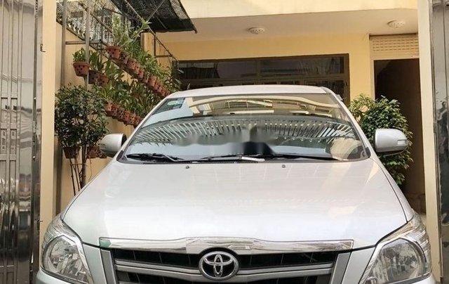 Xe Toyota Innova đời 2015, màu bạc, xe gia đình, giá 410tr0