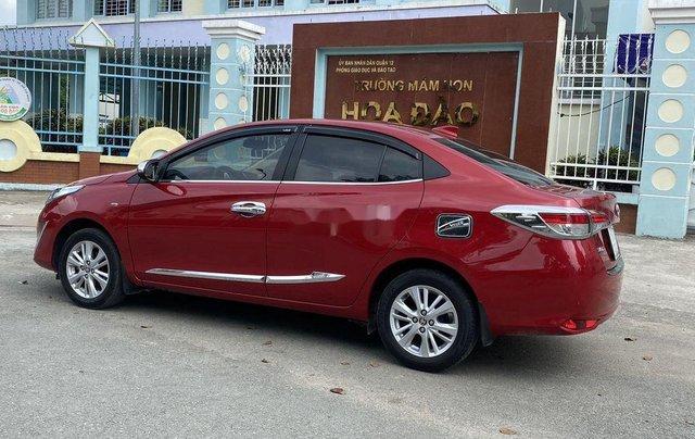 Cần bán gấp Toyota Vios năm sản xuất 2019, màu đỏ còn mới1