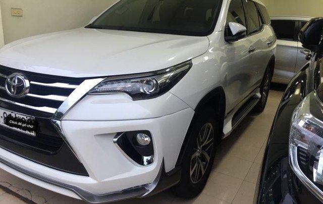 Bán Toyota Fortuner 2017, màu trắng, nhập khẩu chính chủ, 950tr1