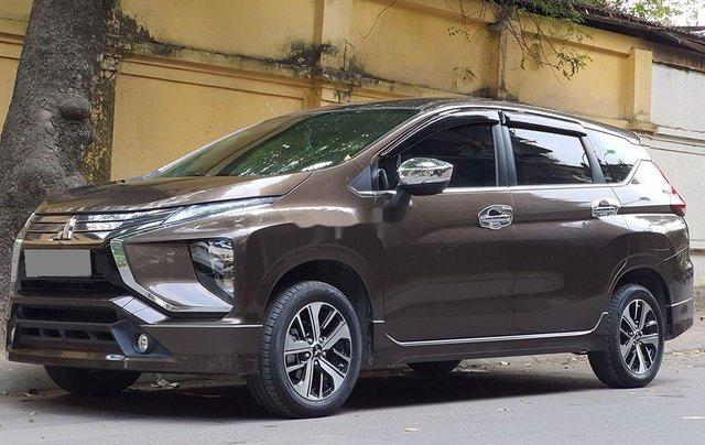 Bán Mitsubishi Xpander AT 2019 tự động màu nâu đồng, xe còn mới0