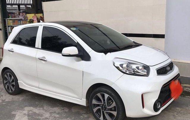 Bán Kia Morning sản xuất 2018, màu trắng xe gia đình1