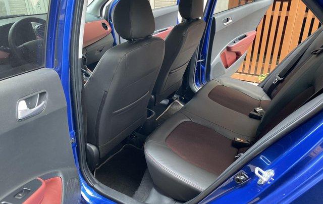 Cần bán xe Hyundai Grand i10 năm sản xuất 2019, màu xanh lam còn mới, 358 triệu5