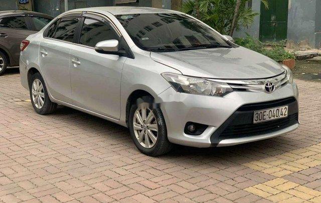 Bán Toyota Vios năm 2016, màu bạc, số sàn0