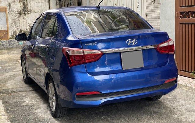 Cần bán xe Hyundai Grand i10 năm sản xuất 2019, màu xanh lam còn mới, 358 triệu3