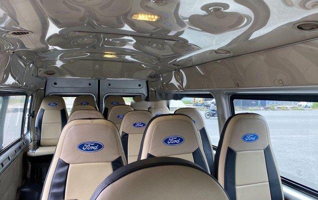 Bán ô tô Ford Transit sản xuất năm 2014, màu bạc chính chủ, giá 368tr10