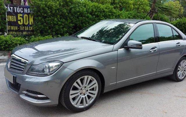 Gia đình bán xe Mercedes C250 đời 2013, màu xám1