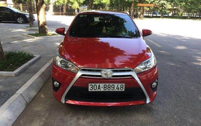 Bán ô tô Toyota Yaris đời 2015, màu đỏ, nhập khẩu nguyên chiếc chính chủ0