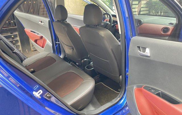 Cần bán xe Hyundai Grand i10 năm sản xuất 2019, màu xanh lam còn mới, 358 triệu7
