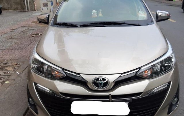 Cần bán xe Toyota Vios sản xuất 2019, xe giá thấp, động cơ ổn định 0
