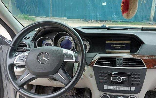 Gia đình bán xe Mercedes C250 đời 2013, màu xám4