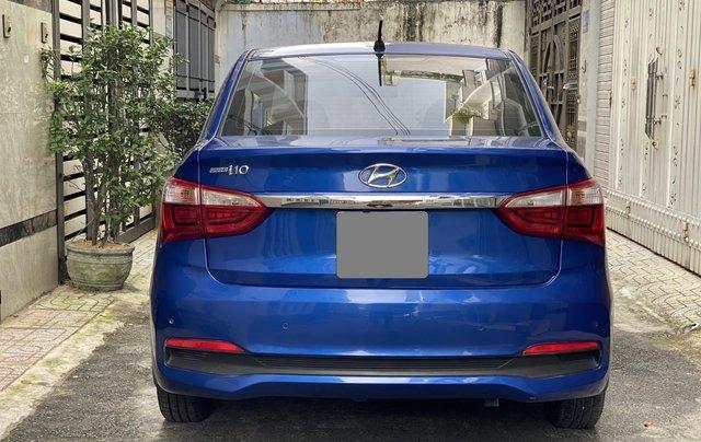 Cần bán xe Hyundai Grand i10 năm sản xuất 2019, màu xanh lam còn mới, 358 triệu11