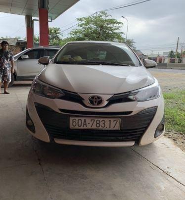 Bán ô tô Toyota Vios 1.5G CVT 2020, màu trắng0
