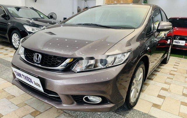 Cần bán gấp Honda Civic sản xuất 2015, xe gia đình1