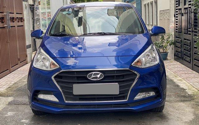 Cần bán xe Hyundai Grand i10 năm sản xuất 2019, màu xanh lam còn mới, 358 triệu1