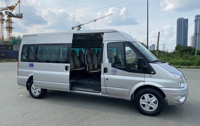 Bán ô tô Ford Transit sản xuất năm 2014, màu bạc chính chủ, giá 368tr9