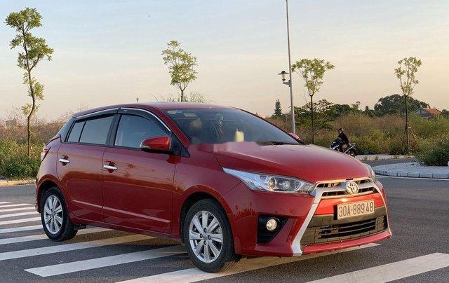 Cần bán gấp Toyota Yaris sản xuất năm 2015, xe giá thấp, động cơ ổn định 1