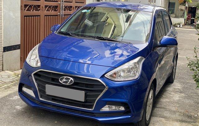 Cần bán xe Hyundai Grand i10 năm sản xuất 2019, màu xanh lam còn mới, 358 triệu10