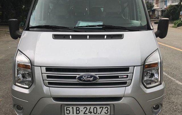 Bán Ford Transit đời 2017, màu bạc còn mới, giá 455tr0
