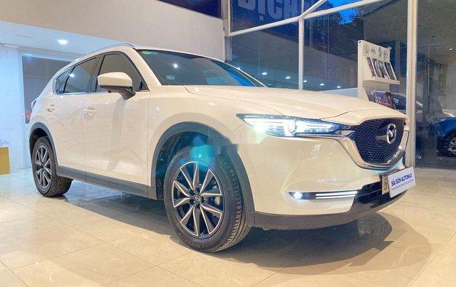 Bán lại xe Mazda CX 5 2018, màu trắng  0