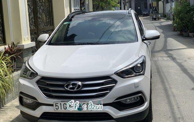 Bán Hyundai Santa Fe sản xuất 2018, số tự động, giá 979tr5
