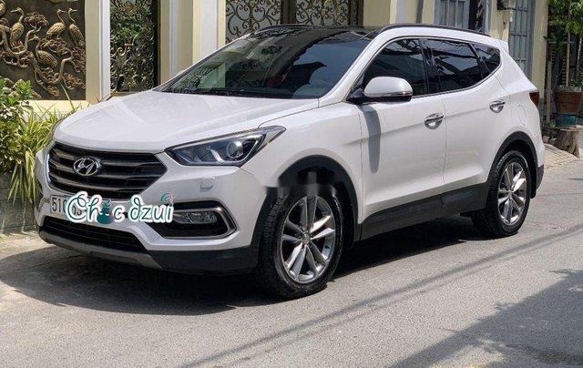 Bán Hyundai Santa Fe sản xuất 2018, số tự động, giá 979tr0