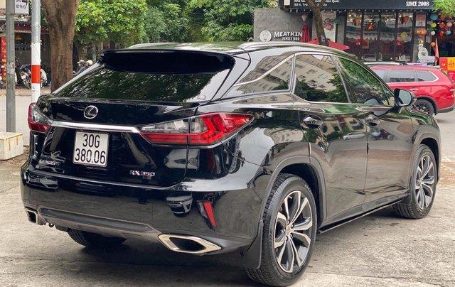 Bán Lexus RX200T 2017, đen, nội thất nâu3