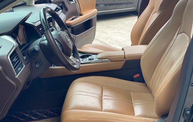 Bán Lexus RX200T 2017, đen, nội thất nâu7