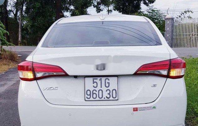 Bán Toyota Vios E 2019, màu trắng, giá chỉ 475 triệu2