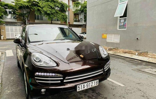 Cần bán xe Porsche Cayenne đời 2014, màu nâu, xe nhập chính chủ5