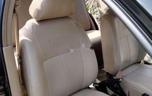 Cần bán xe Daewoo Gentra sản xuất 2009, màu đen, nhập khẩu5