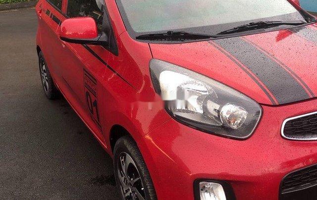 Cần bán Kia Morning 2016, màu đỏ, nhập khẩu, giá tốt0