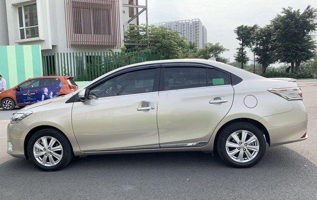 Bán Toyota Vios đời 2017, màu vàng cát, xe nhập2