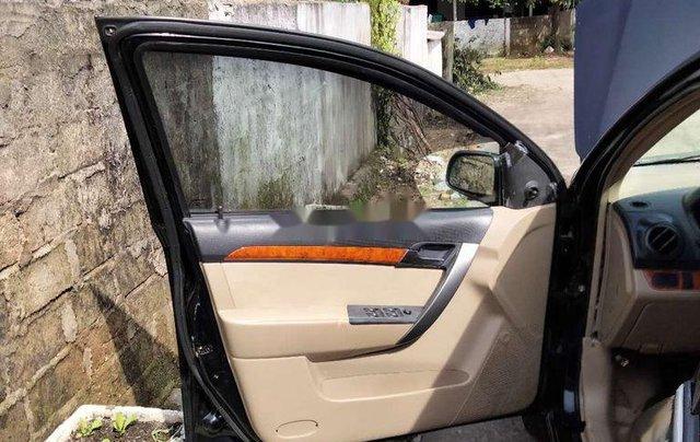Cần bán xe Daewoo Gentra sản xuất 2009, màu đen, nhập khẩu6
