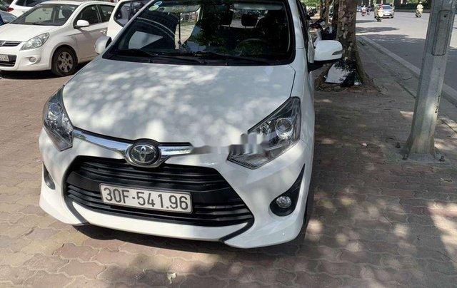 Cần bán Toyota Wigo năm sản xuất 2018, màu trắng, xe nhập  0