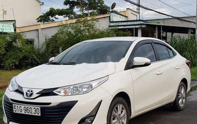 Bán Toyota Vios E 2019, màu trắng, giá chỉ 475 triệu1
