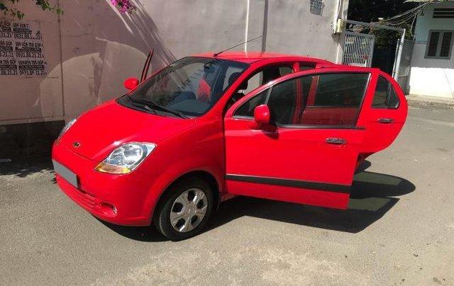Bán Chevrolet Spark Van sản xuất năm 2016, màu đỏ 4