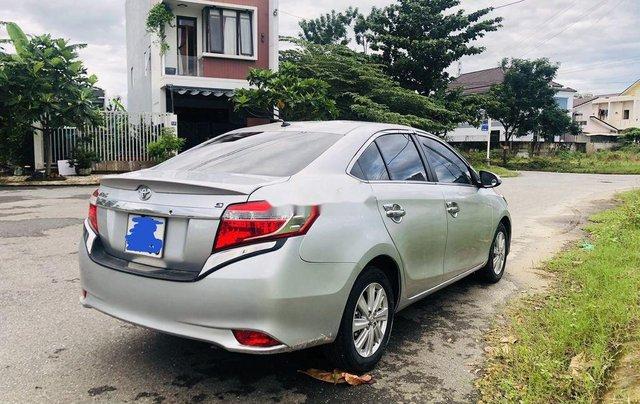 Bán Toyota Vios sản xuất năm 2015, màu bạc số tự động6